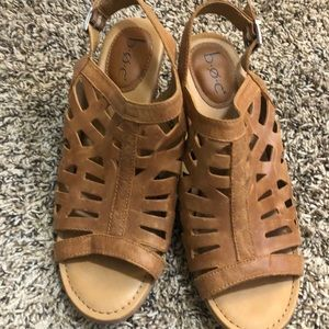 BOC Size 10 Leather Sandals
